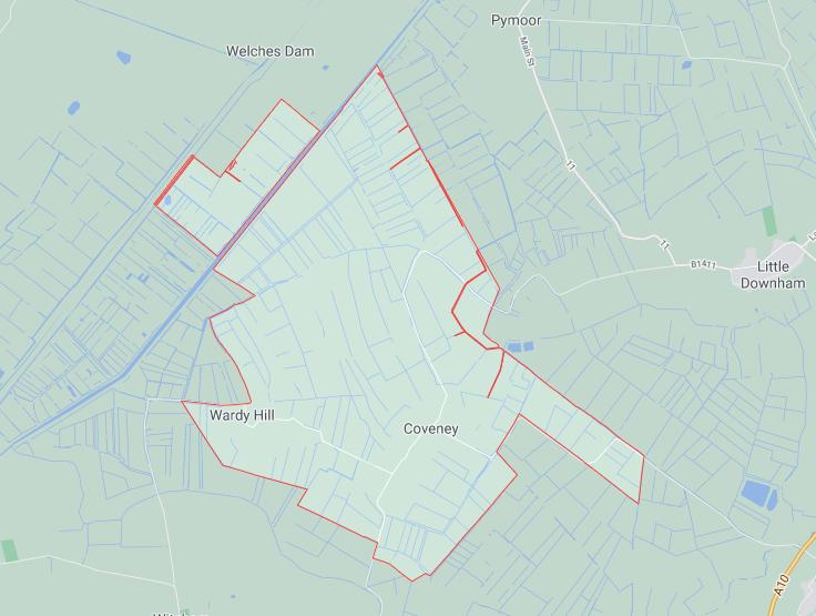 Coveney Parish council area of responsibility
